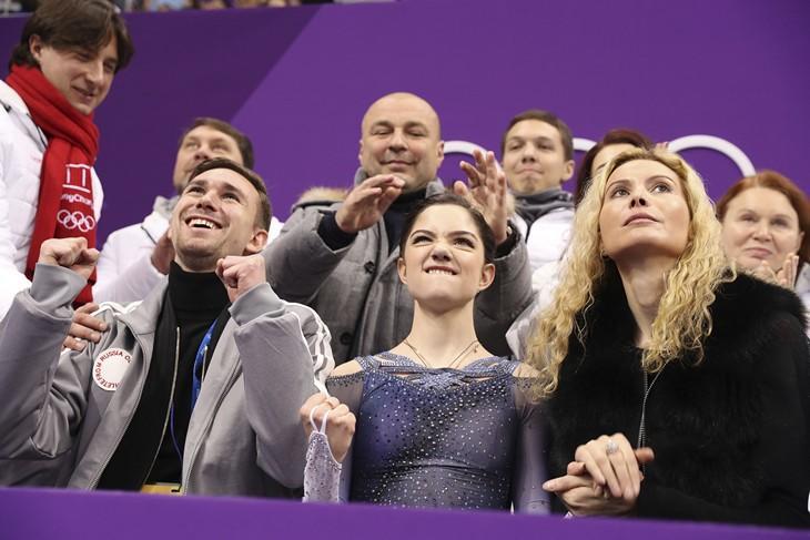 Гениальный старт Медведевой на Олимпиаде. С мировым рекордом