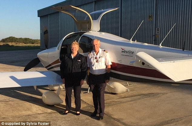 Пожилая пара построила самолет и улетела в кругосветку