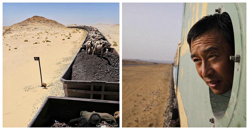 Через Сахару к океану в товарняке: экстремальная поездка в самом длинном в мире поезде