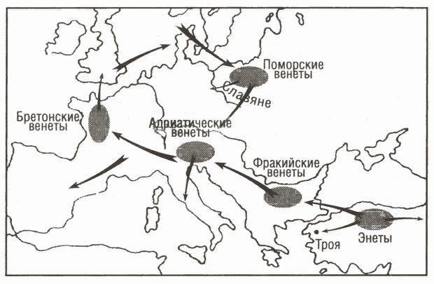 Венеты — мнимые предки славян