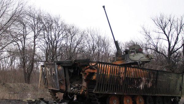 """Басурин: ополчение готово прекратить огонь в Дебальцево """"прямо сейчас"""""""