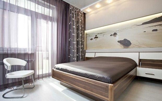 Дизайн комнаты с балконом: о…