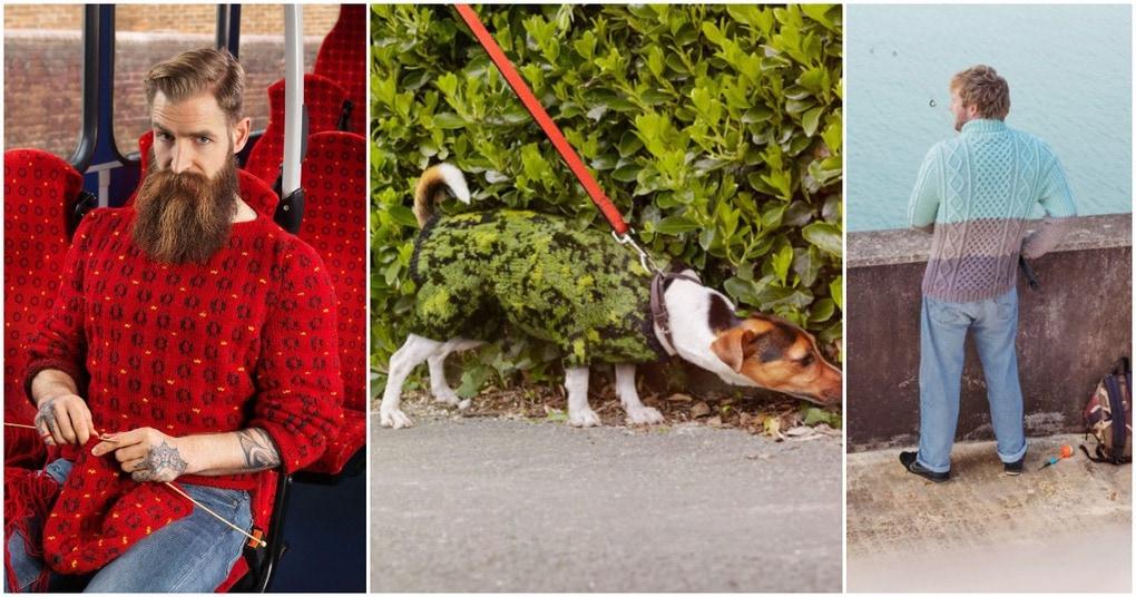 «Невидимые» свитера: необычный проект по созданию креативной одежды