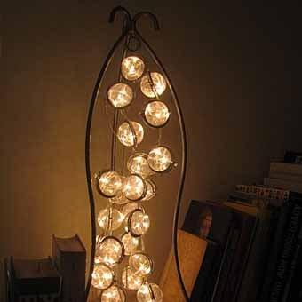 Семь замечательных и необычных ламп своими руками