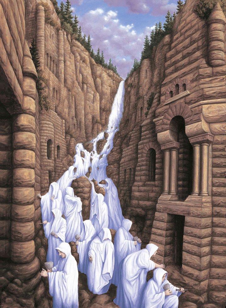оптические иллюзии от роба гонсалеса (3)