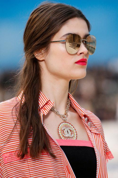 Модные солнцезащитные очки от Chanel весна-лето 2019