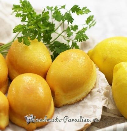 Как испечь лимоны. Сладкая выпечка