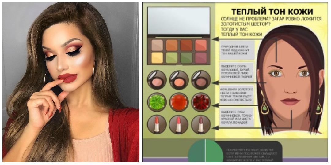 Королева мейкапа: лучшие оттенки косметики для вашего тона кожи