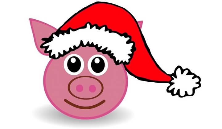 Трафареты на год свиньи