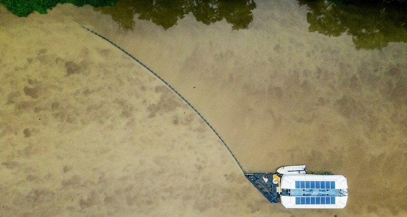 Вместо очистки океана экологи перекроют реки