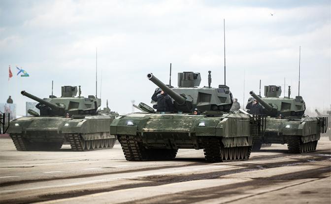 «Армата» забуксовала, Т-90 «уплыл» к американцам