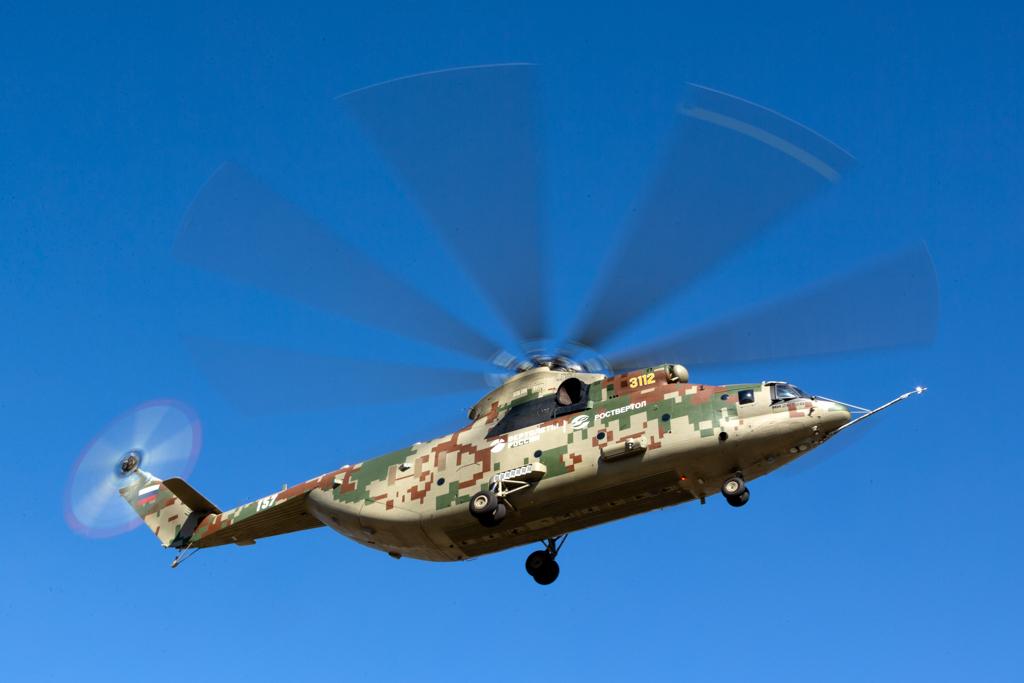 Царь-вертолет: новая модель Ми-26