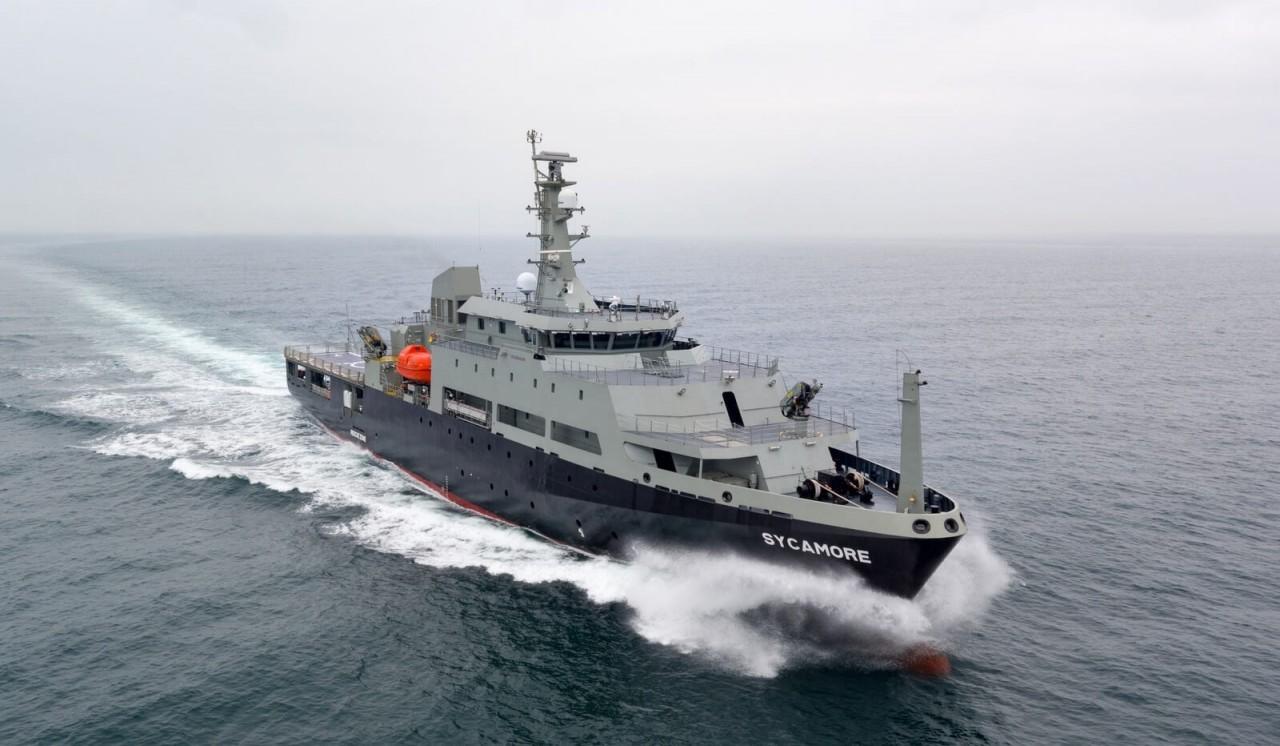 Австралийский учебный авианесущий корабль Sycamore