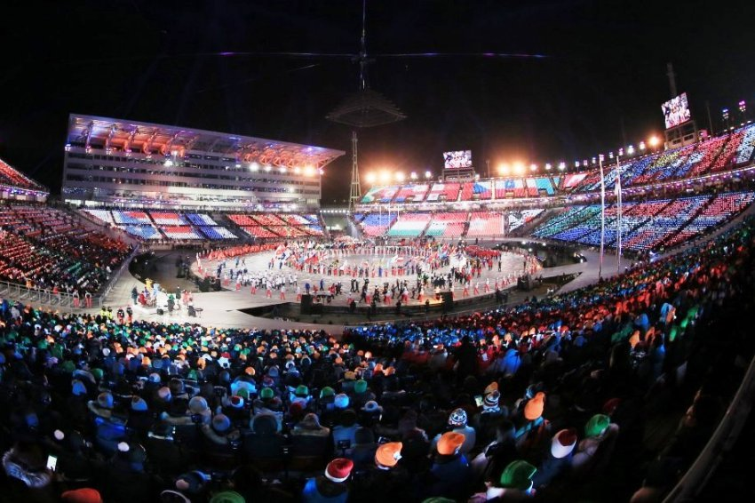 Прошла церемония закрытия зимней Олимпиады-2018
