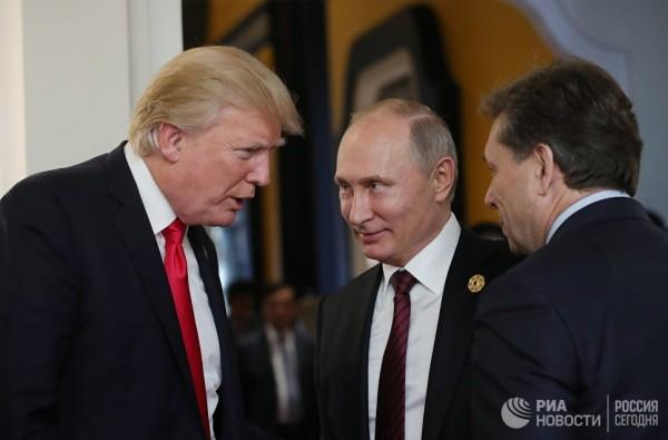 Путин и Трамп обсудили специфику борьбы с дураками