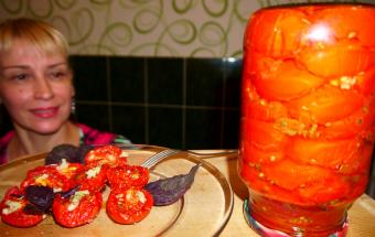 Вяленые помидоры! Наивкуснейшая закуска на зиму
