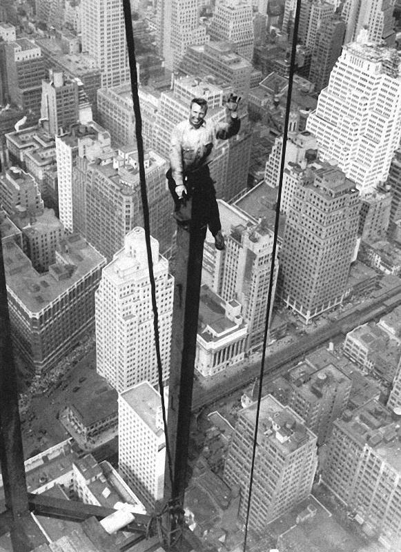 0255 Как строились небоскребы в Нью Йорке