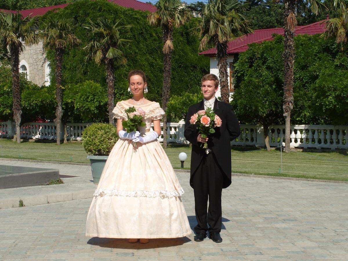 Представление романтических роз в Никитском ботаническом саду, 29 мая 2014 г.
