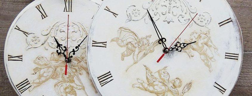 Декупаж часов: интересные идеи для создания оригинального предмета интерьера