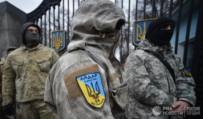 Украинские войска заняли два села внейтральной зоне
