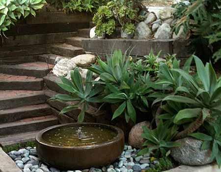маленькие водоемы в ландшафтом дизайне садового участка