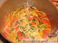 Фото приготовления рецепта: Палермитанский летний суп - шаг №10