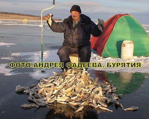 рыбалка на селенге