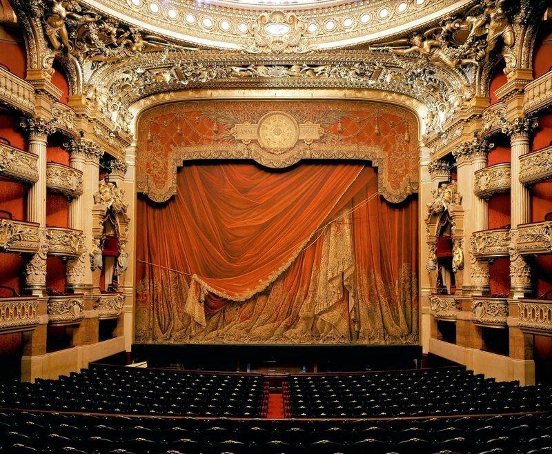 7. Опера Гарнье, Франция интересно, спектакль, театр, театральная россия, театры оперы, фото