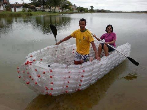 Пластиковые бутылки - в дело!