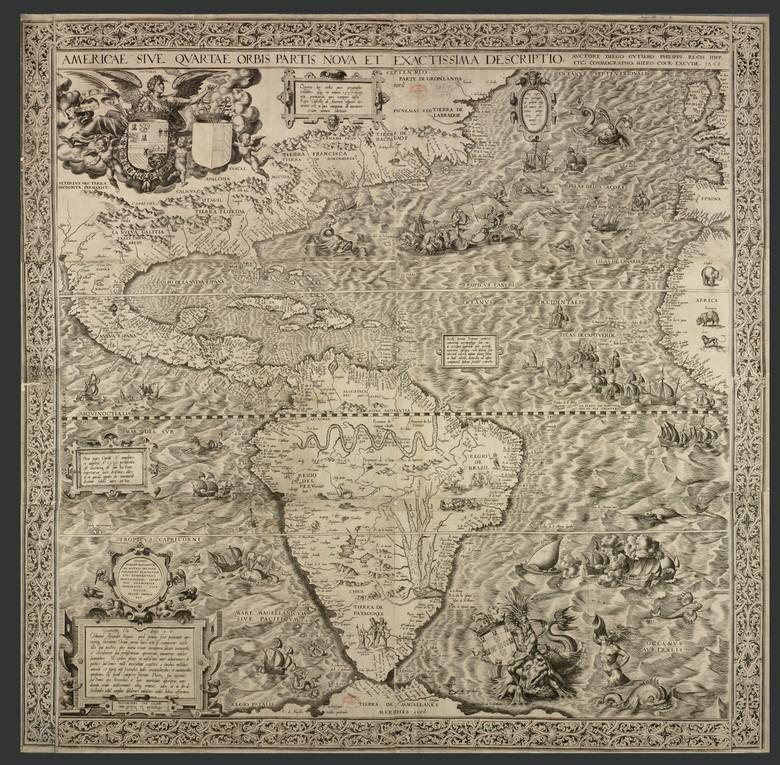 На карте 16 века нашли рисун…