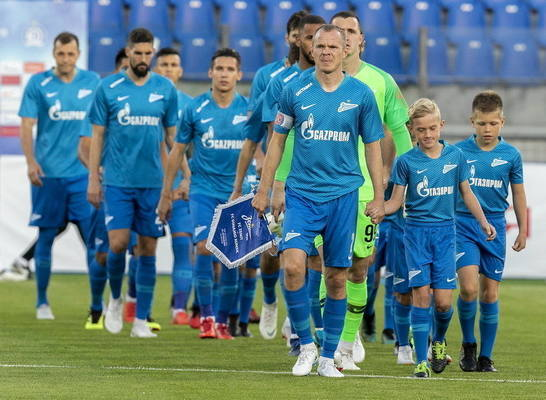 «Зенит» готовится к встрече с чемпионом России минувшего сезона