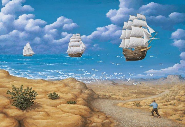 оптические иллюзии от роба гонсалеса (22)
