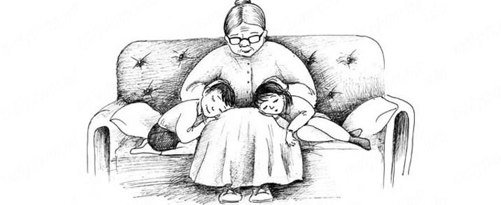 Бабушка обязана смотреть вну…