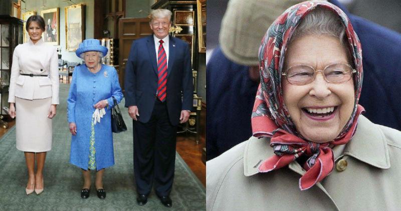 Троллинг по-королевски: о чем говорили брошки Елизаветы II на встречах с Дональдом Трампом