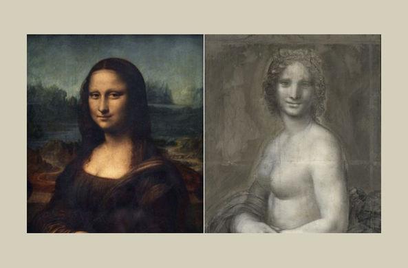 Во Франции нашли эскиз обнаженной «Моны Лизы»