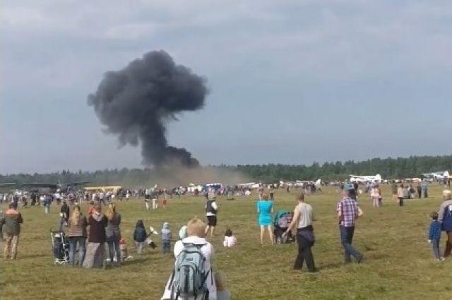 Пилот разбившегося в Балашихе Ан-2 увел самолет от толпы зрителей