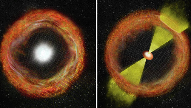 Время течет «назад» во время гамма-вспышек, обнаружили астрономы