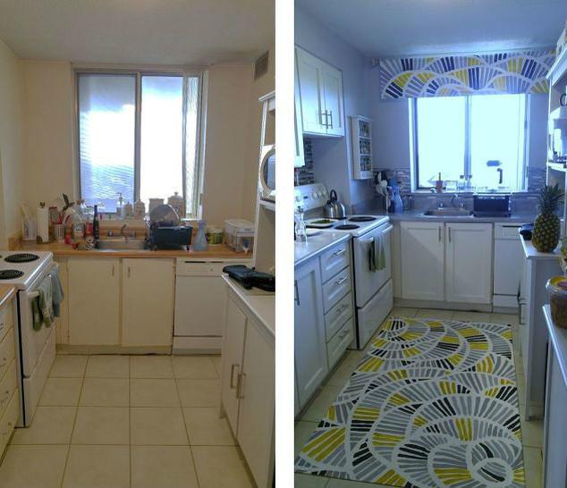 Волшебное преображение кухни в съемной квартире
