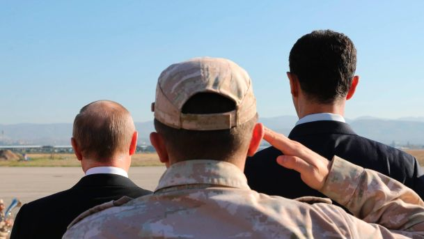 Круг почета Путина в Сирии преподал ближневосточным лидерам один важный урок