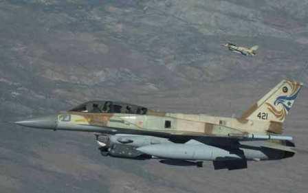 Израиль вновь атаковал позиции сирийских военных врайоне Голанских высот