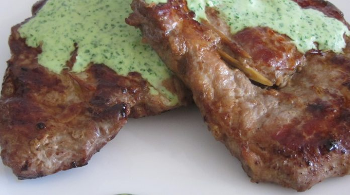 Идеальный стейк из свинины в азиатском стиле