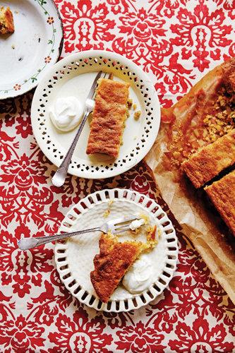 Пирог с орехами от Джейми