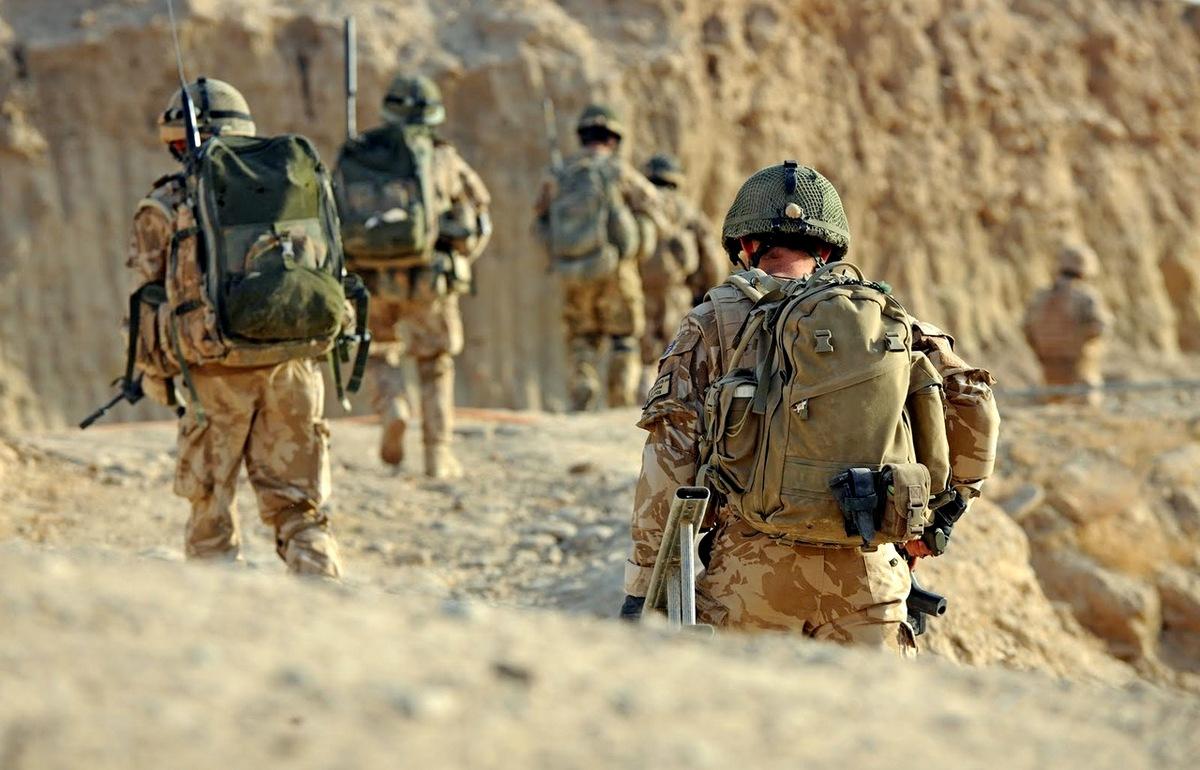 В Восточной Гуте задержана группа офицеров британской SAS
