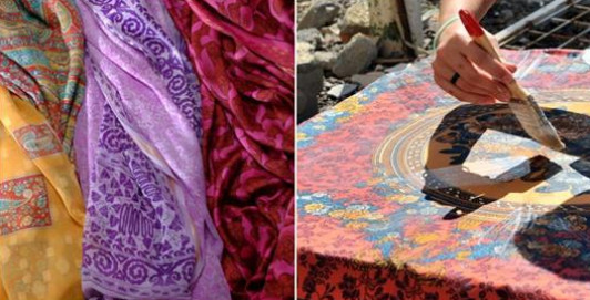 Старый платок в новом амплуа: гениальное преображение интерьера, достойное всяческих похвал…