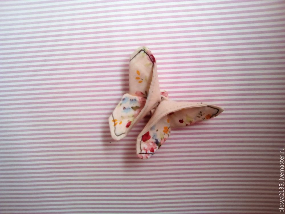 Как быстро сшить текстильных бабочек. Универсальный декор на все случаи жизни