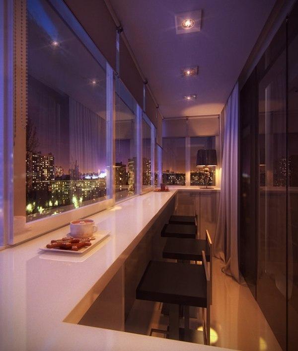 10 экстраординарных идей для вашего балкона