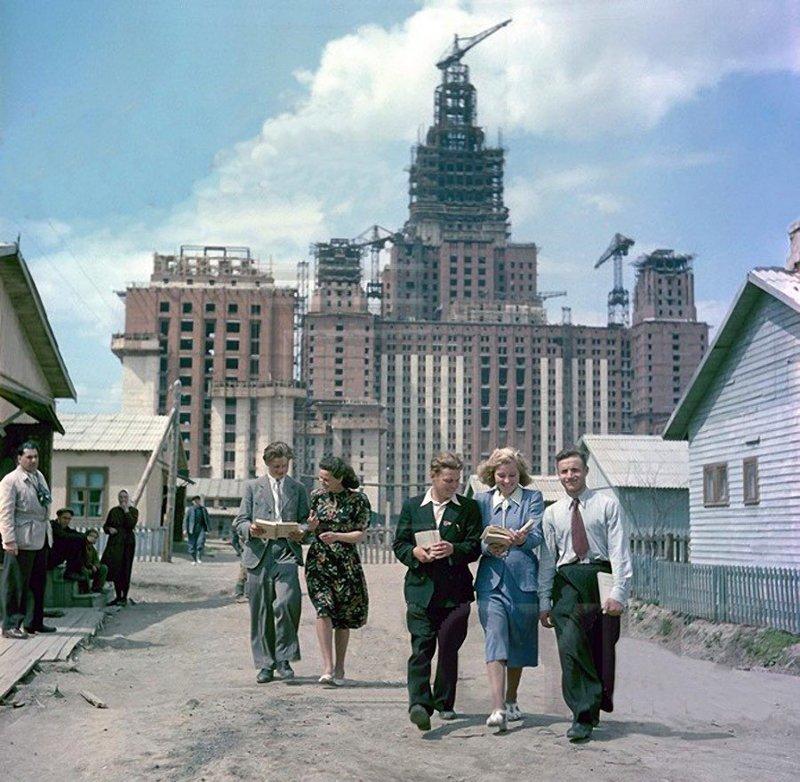 Жизнь в СССР. 1950-е годы