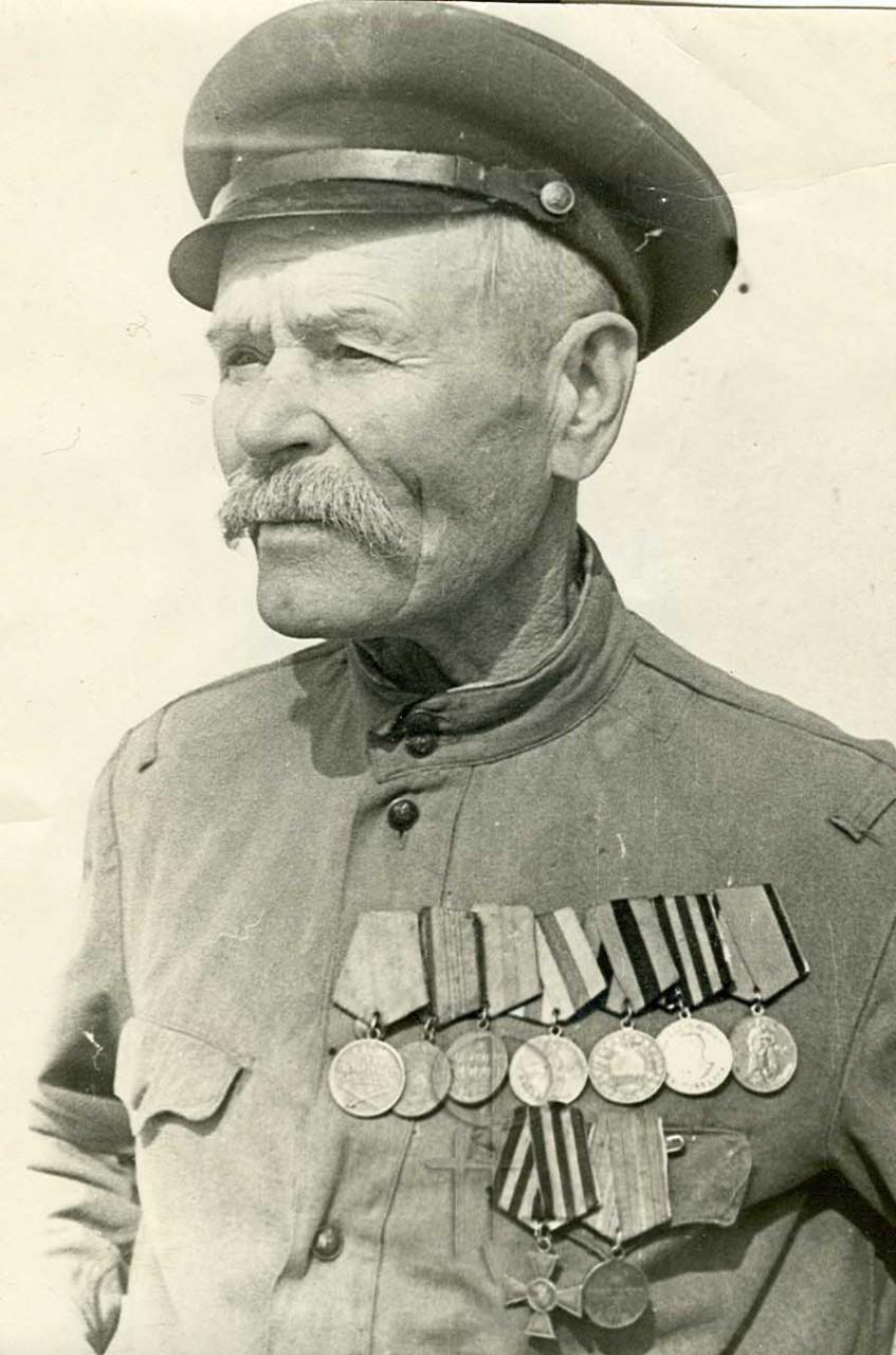 Неизвестный Георгиевский кавалер, конец 60-х гг