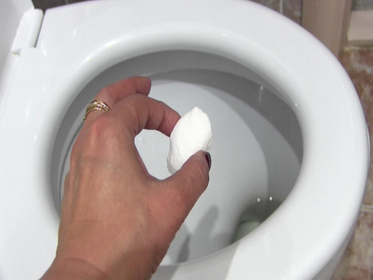 Как сделать шипучку для унитаза