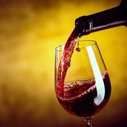 Один бокал красного вина дей…